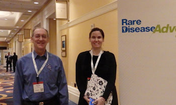 Peter and Jennifer at WODC