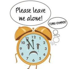 Leave time alone
