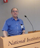 Peter speaking at NIH